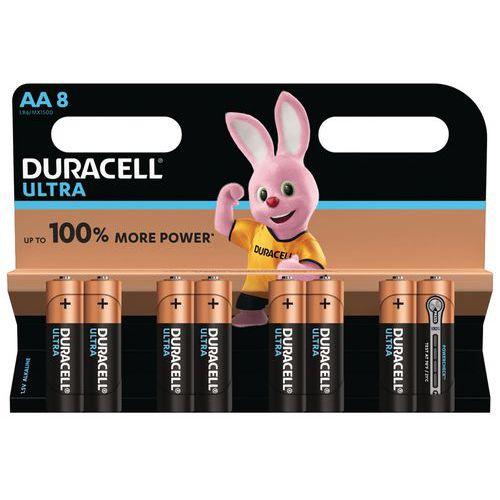 Pilhas alcalinas Duracell Ultra Power AA LR6 – conjunto de 8