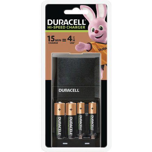 Carregador para pilhas recarregáveis de 15 minutos – CEF27 – Duracell