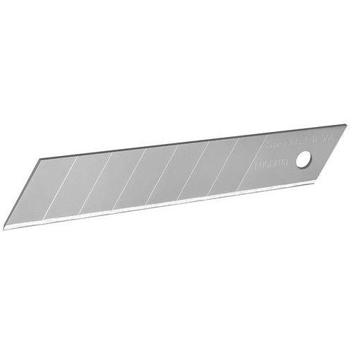 Conjunto de 10 lâminas de 18mm para faca de segurança – Stanley