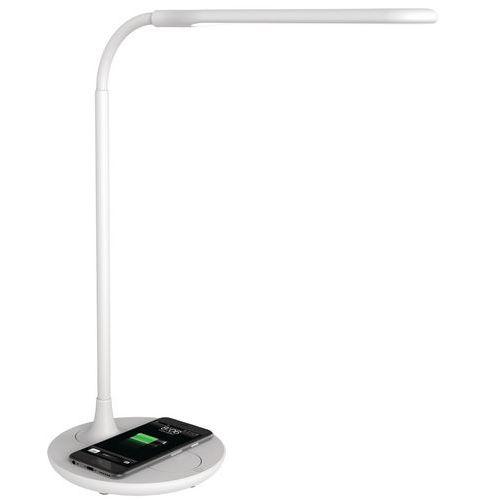 Candeeiro de secretária LED – carregamento de smartphone – Manutan