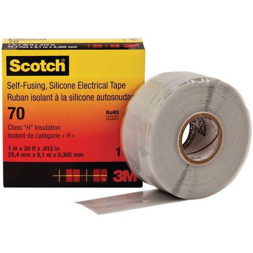 Fita de isolamento para altas temperaturas – Scotch® 70 – 25mm x 9,15m – 3M™