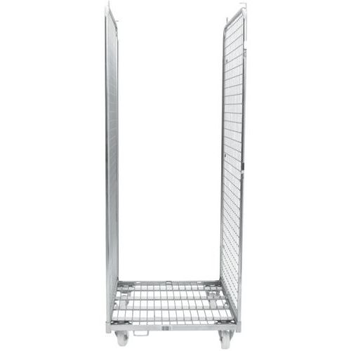 Contentor móvel com 2 lados – capacidade de 400kg – Manutan