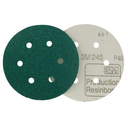 Disco abrasivo em suporte de papel Hookit™ 245 – 3M™