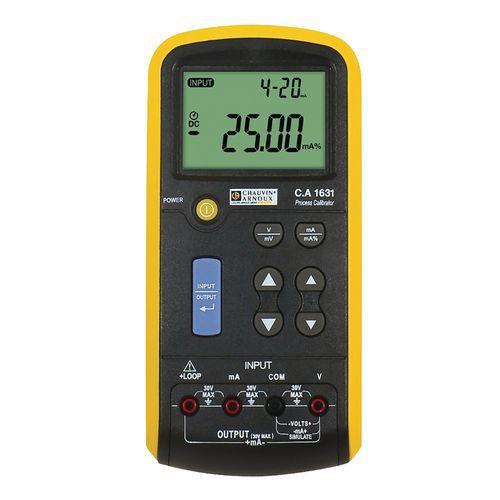 Calibrador de circuito de tensão/corrente