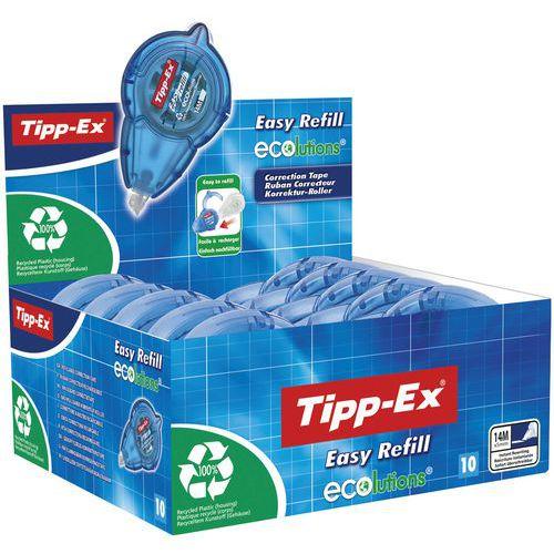 Fita corretora recarregável Easy Refill - Tipp-Ex