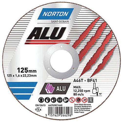 Disco de corte plano - Norton
