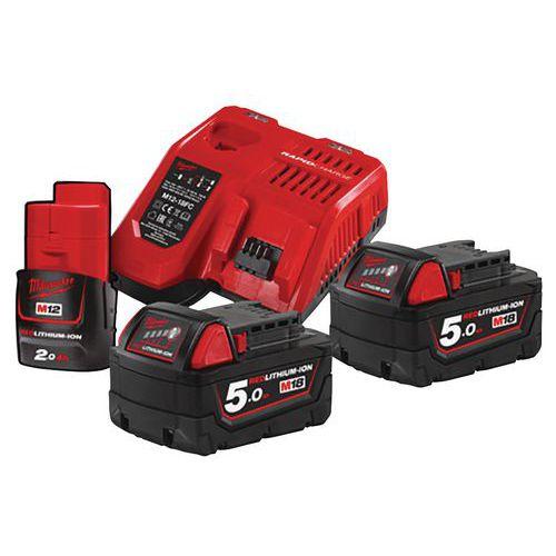 Conjunto de 2 baterias de 18volts - Milwaukee
