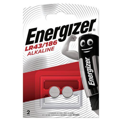 Pilha de botão alcalina LR43 – Energizer