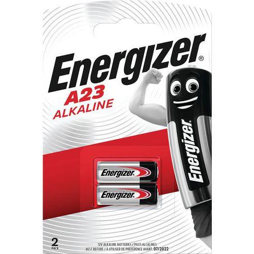 Pilha alcalina multifunções para calculadoras, relógios, entre outros – MN21/A23 – conjunto de 2 – Energizer