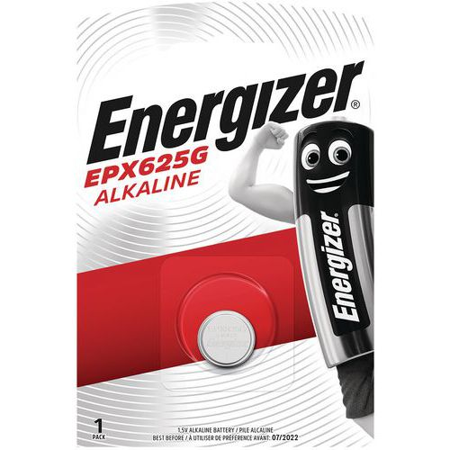 Pilha alcalina multifunções para calculadoras, relógios, entre outros – EPX625/LR9 – Energizer