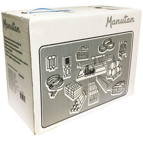 Conjunto de cintagem em PP azul – Manutan