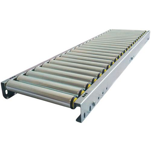 Transportador gravítico com rolos em PVC – Somefi