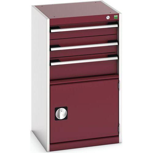 Armário de oficina Cubio SL-559-4.1 com gavetas - Bott
