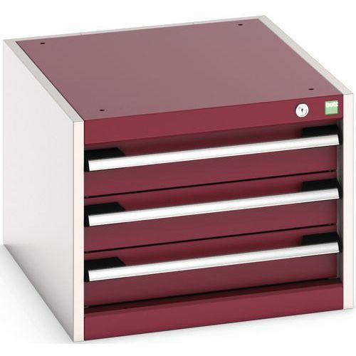 Armário de oficina Cubio SL-564-3.3 com gavetas - Bott