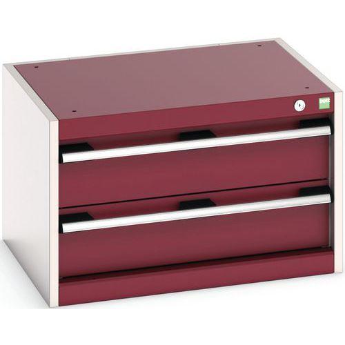 Armário de oficina Cubio SL-654-2.1 com gavetas - Bott