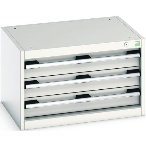 Armário de oficina Cubio SL-654-3.3 com gavetas - Bott