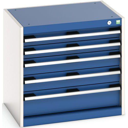 Armário de oficina Cubio SL-666-5 com gavetas - Bott