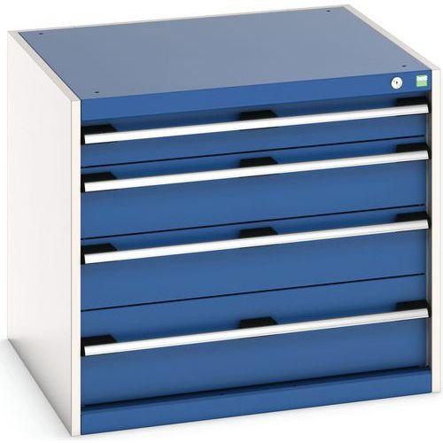 Armário de oficina Cubio SL-877-4.1 com gavetas - Bott