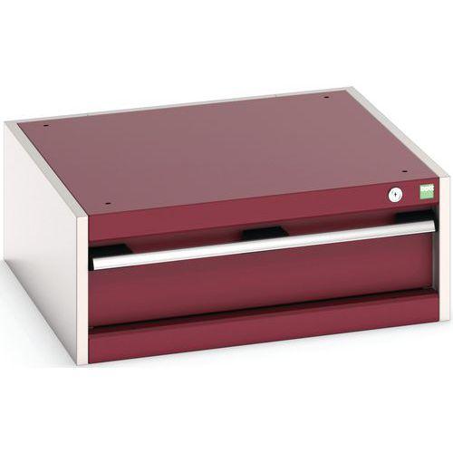 Bloco de gavetas Cubio - com gavetas