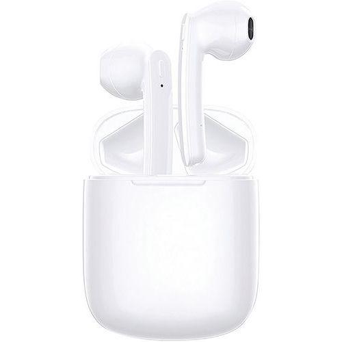 Auriculares estéreo Bluetooth 5.0 TWS com caixa de carregamento – Branco – Moxie
