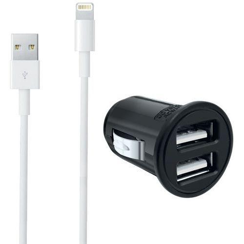 Carregador-isqueiro USB + cabo Lightning para iPhone – Moxie