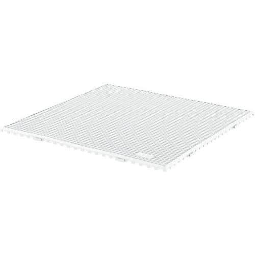 Piso gradeado antiderrapante - Em placas