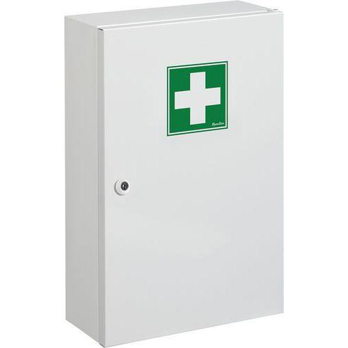Armário de farmácia com 1 porta modelo pequeno - Manutan