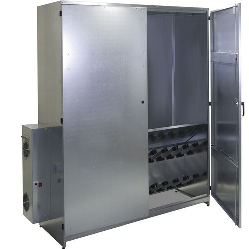 Cabide secador – com porta de metal – Akaze