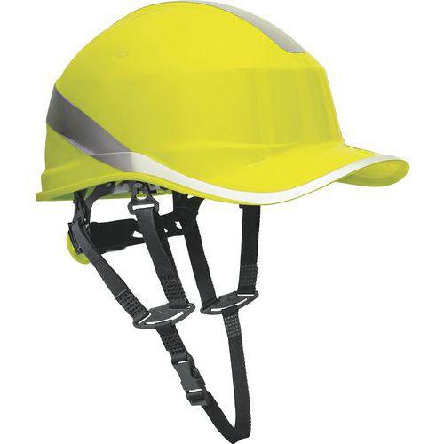 Capacete de estaleiro forma do boné de basebol + francalete - aperto rotor
