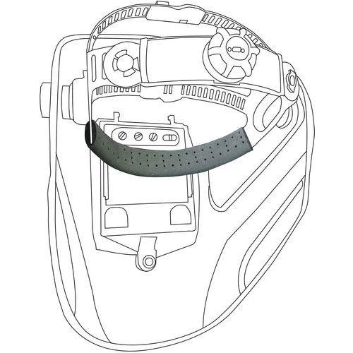 Bandas de suor para capacetes de soldador