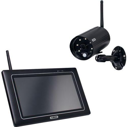 Kit de videovigilância PnP Full HD com ecrã – 1 câmara – Abus