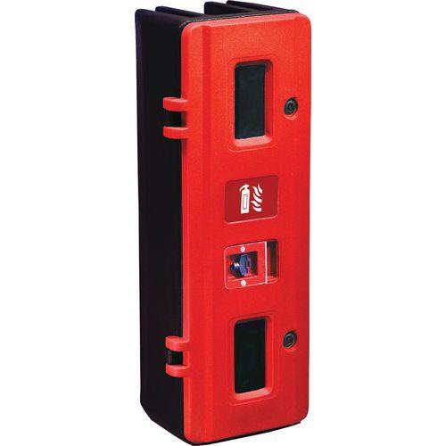 Caixa para extintor de 9 a 12kg com fecho com chave – Jonesco