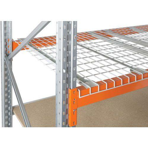 Plataforma gradeada em fio pesado Easy-Rack