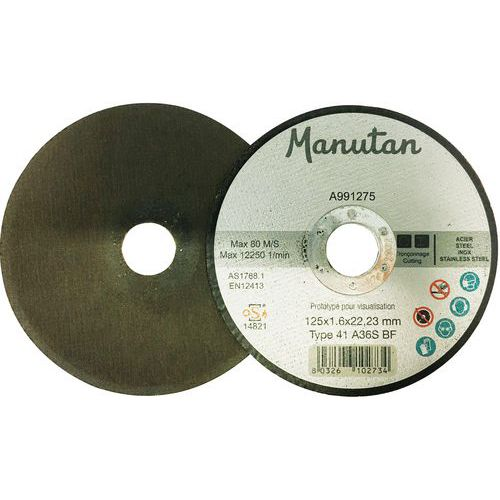 Disco de corte – Ø 230mm – Manutan
