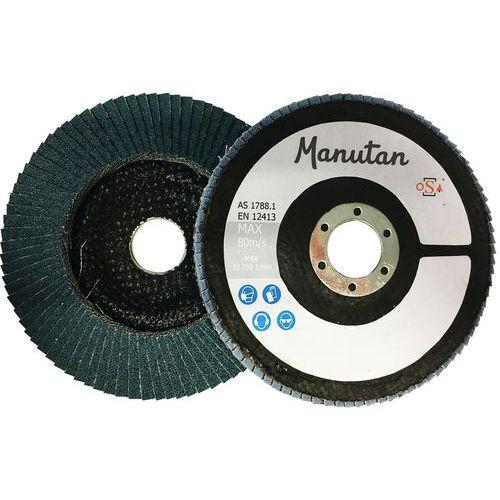 Discos de lamelas bombeados – Ø 125mm – Manutan