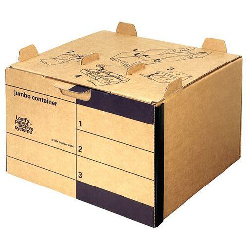 Caixa de arquivo em cartão ondulado City 10+ – Bankers Box