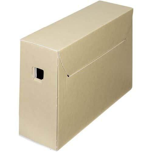 Caixa de arquivo em cartão ondulado City 30+ – Bankers Box