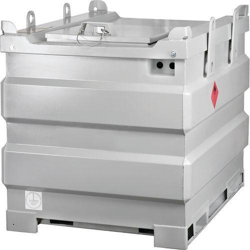 Cisterna de aço de parede dupla – 1000L – Pressol