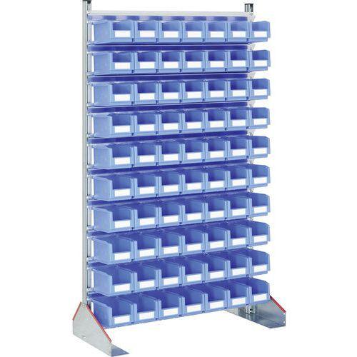 Estante fixa para utilização de face simples – caixas de bico da série SK – Bito
