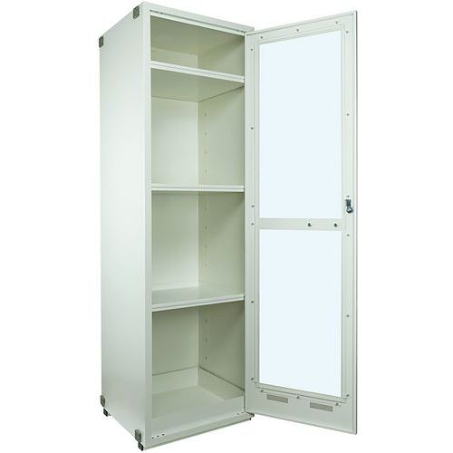 Armário de laboratório – portas envidraçadas – Trionyx
