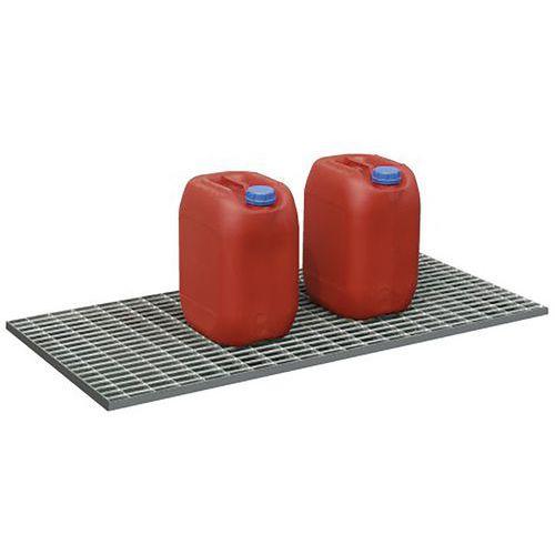 Plataforma gradeada para caixa plana – 30 litros
