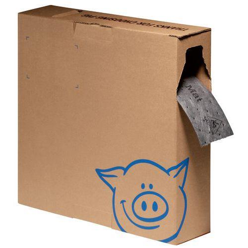 Tapete absorvente em rolo para zonas estreitas – PIG MAT