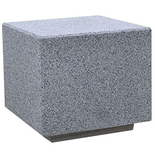 Assento cúbico em betão e granito Kube – Benito