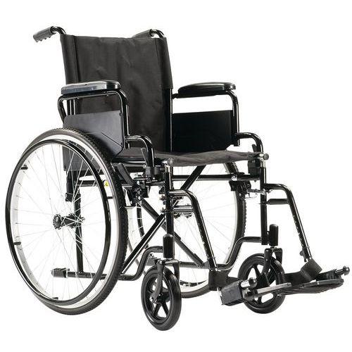 Cadeira de rodas com espaldar fixo preto
