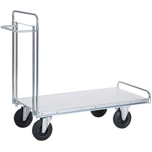 Carro para cargas pesadas – 1 plataforma – capacidade de 500kg
