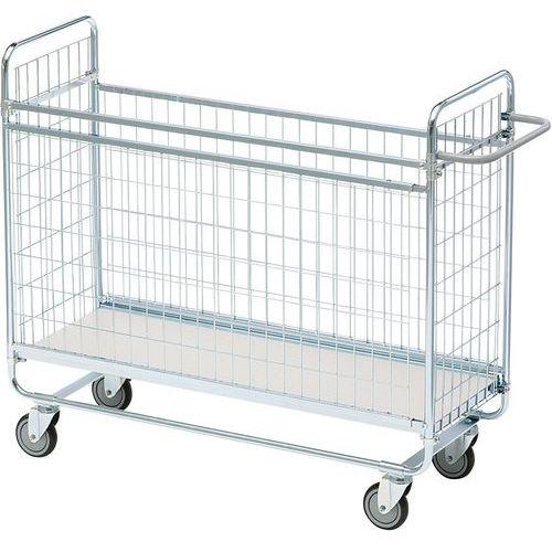Carro gradeado para embalagens – capacidade de 200kg