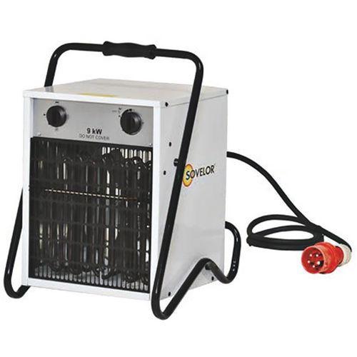Aquecedor móvel elétrico trifásico – 9kW
