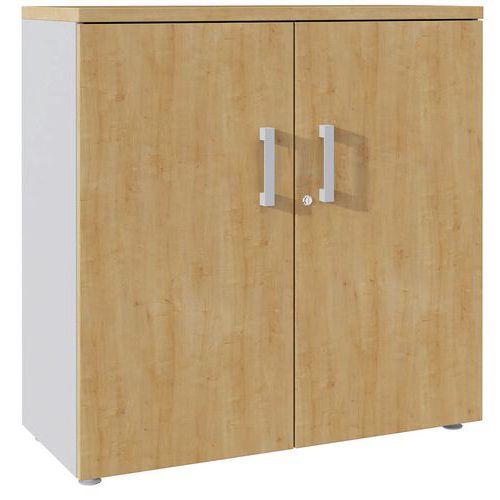 Armário de arquivo com portas rebatíveis de 101 cm de altura