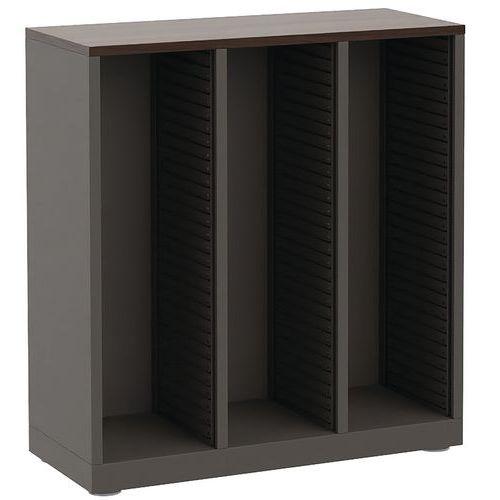 Módulo de arquivo vazio com 3 colunas