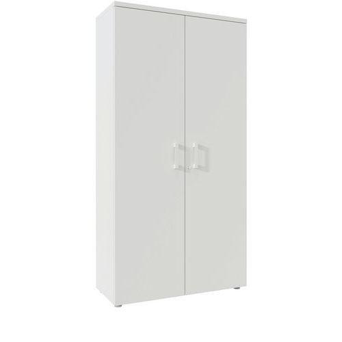 Armário de arquivo alto com portas rebatíveis de 197 cm de altura